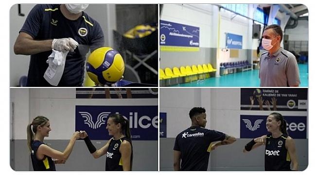Fenerbahçe Opet'te yeni sezon hazırlıkları başladı