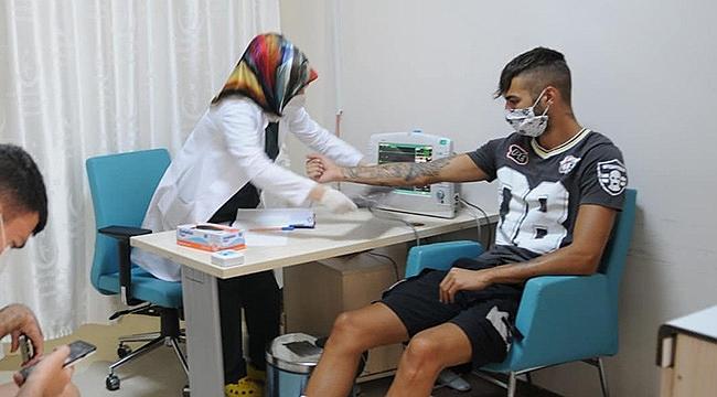 Solhan Spor sağlık kontrolünden geçti