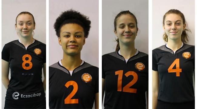 U19'a Eczacıbaşı'dan dört oyuncu