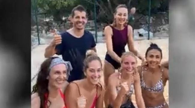 Emre Belözoğlu, futbolu bıraktı voleybola başladı!