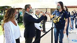 Fenerbahçe'de bayramlaşma töreni gerçekleşti