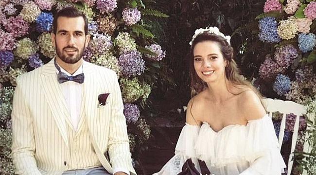 Gökhan Gökgöz ile Büşra Kayrun çifti dünya evine girdi