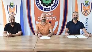 İnegöl Belediyespor, Bora Şensoy ile sözleşme yeniledi