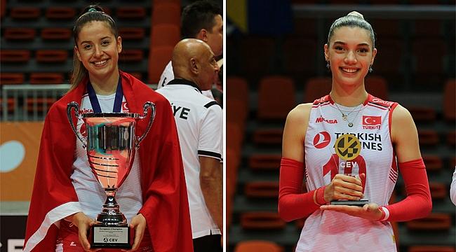 Lila Şengün ve Sude Hacımustafaoğlu Şampiyonluğu Değerlendirdi