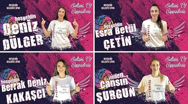 Nevşehir Belediyespor dört oyuncuyla anlaştı!