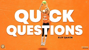 Quick Questions serisinin konuğu Elif Şahin (VIDEO)