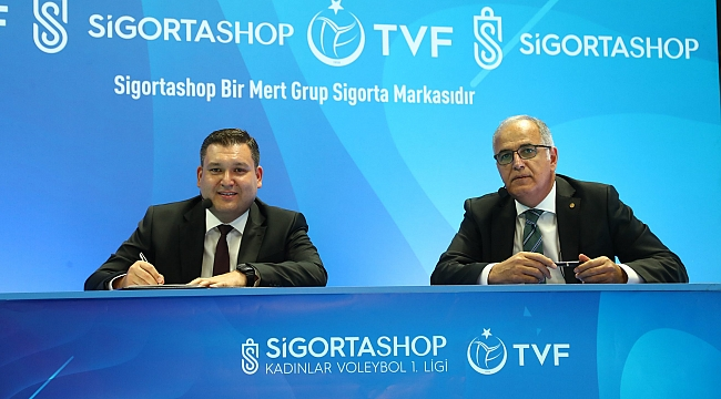 TVF Kadınlar Voleybol 1.Ligi'ne yeni isim sponsoru oldu