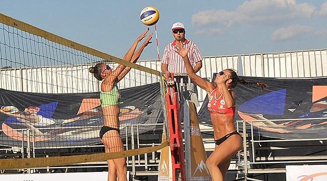 TVF Pro Beach Tour Altınoluk Kupası Başladı