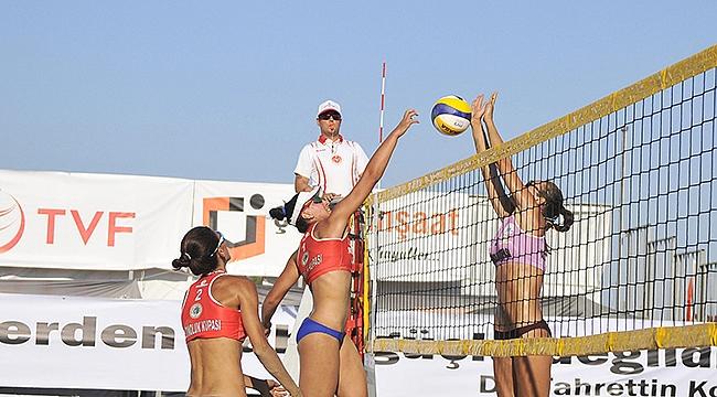 TVF Pro Beach Tour Altınoluk Kupası'nda 2. gün tamamlandı