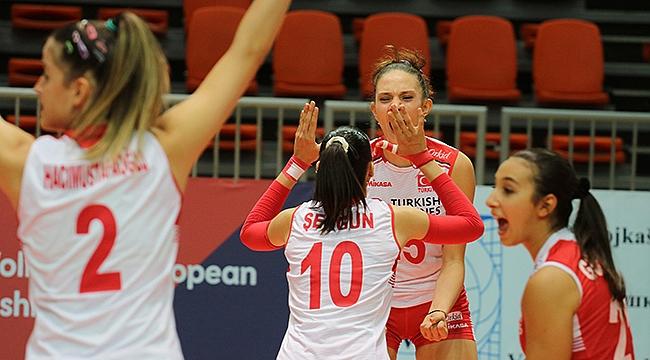 U19 Genç Kız Millilerimiz Avrupa şampiyonu!