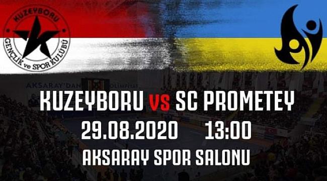 Ukrayna Şampiyonu SC Prometey Aksaray'da