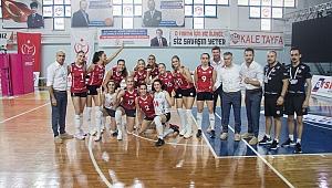 Çan Gençlik Kalespor, Beşiktaş'a set vermedi