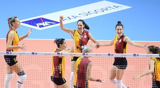 Galatasaray HDI Sigorta deplasmandan mutlu dönüyor