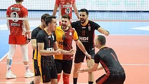 Galatasaray HDI Sigorta, kapanışı set vermeden yaptı