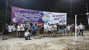 Mezitli Plaj Voleybol Turnuvası sona erdi