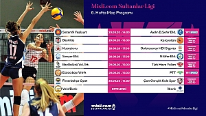Misli.com Sultanlar Ligi'nde 6. Hafta Başlıyor