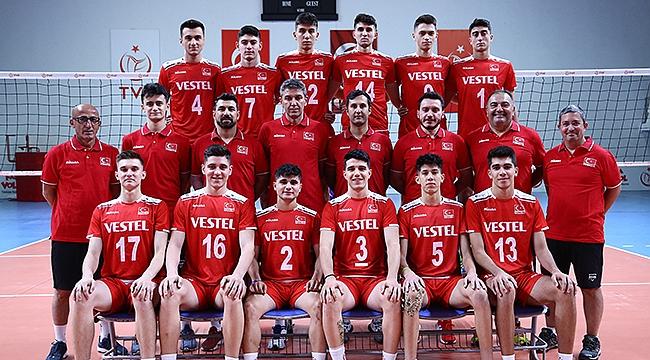 U18 Erkek Millilerimiz Avrupa Şampiyonası'nda