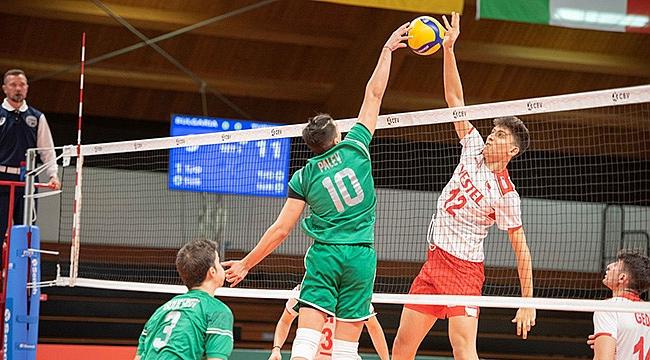 U18 Genç Erkek Millilerimiz, Bulgaristan'a mağlup oldu