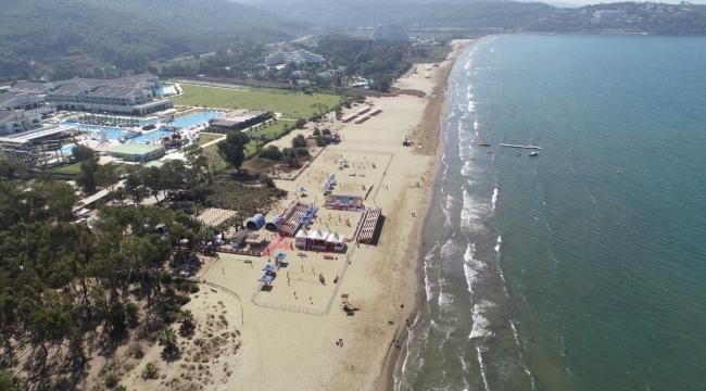 U18 Plaj Voleybolu Avrupa Şampiyonası Başlıyor