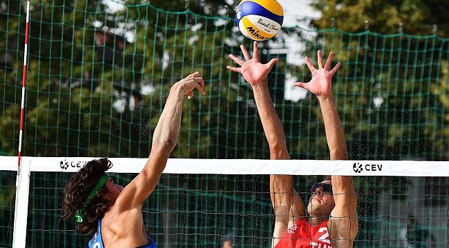 U20 Plaj Voleybolu Avrupa Şampiyonası'na Veda Ettik