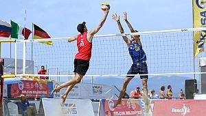 U22 Plaj Voleybolu Avrupa Şampiyonası'nda 3. Gün tamamlandı