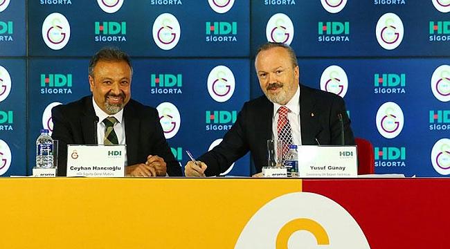 Galataray HDI Sigorta ile sponsorluk anlaşması imzaladı