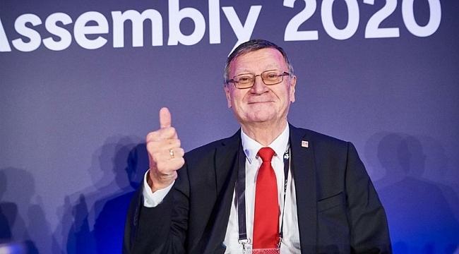 CEV'de Boricic yeniden başkan!..
