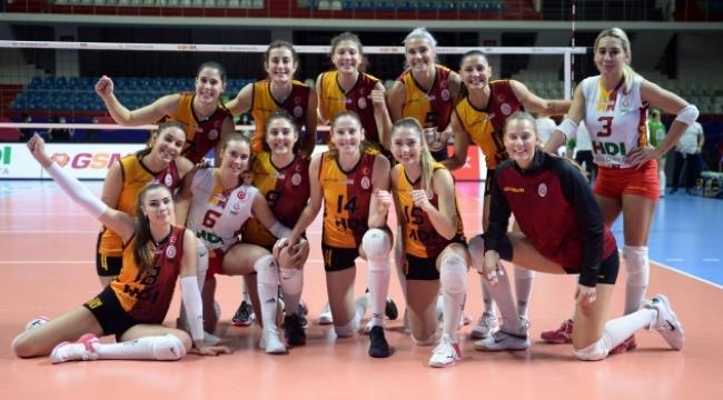 Galatasaray son 16'ya adını yazdırdı