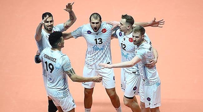 Halkbank, Challenge Kupası'nda Yarı Finale Yükseldi