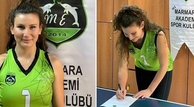 Zeynep Naz Şekerci, Mehmet Erdem Marmara Akademi'de