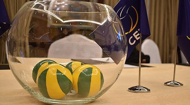 CEV Şampiyonlar Ligi Çeyrek Finali kuraları çekildi