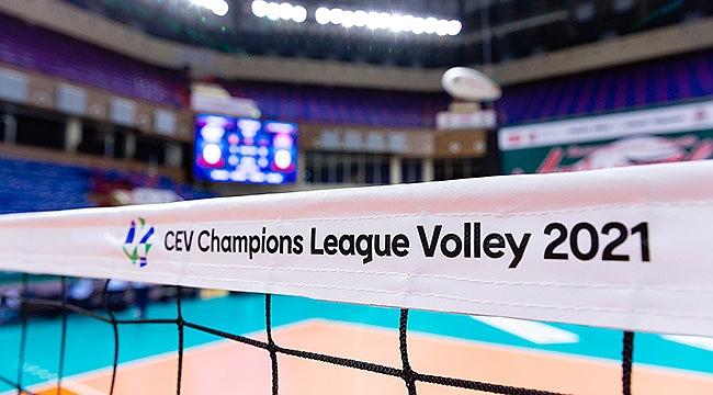 CEV Şampiyonlar Ligi'nde temsilcilerimizin kura heyecanı