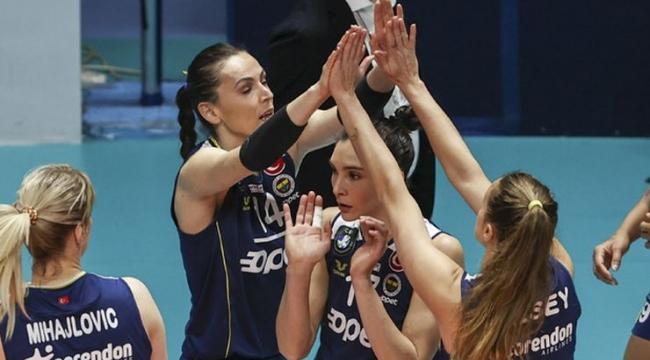 Fenerbahçe Kadın Voleybol Takımı'nın konuğu Gorgonzola