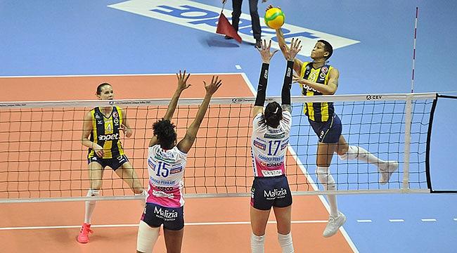 Fenerbahçe Opet, Igor Gorgonzola Novara'ya Mağlup Oldu
