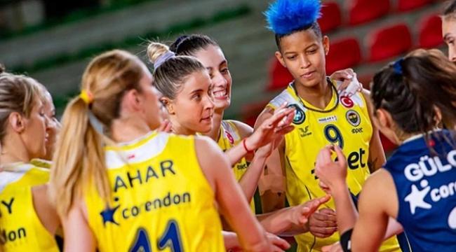 Fenerbahçe Opet rahat kazandı