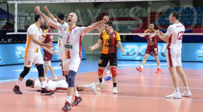 Galatasaray, evinde set vermedi
