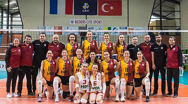 Galatasaray HDI Sigorta, 5. sette mağlup oldu