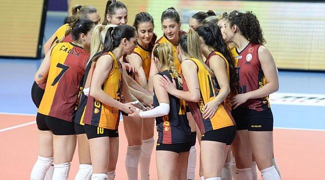 Galatasaray Kadın Voleybol, Beziers Angels'la karşı karşıya