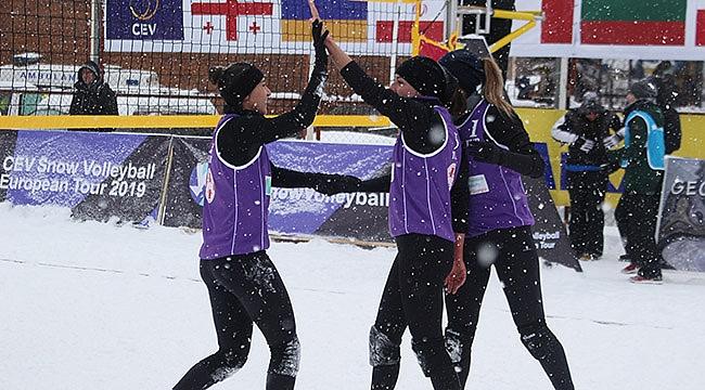 Kadın Kar Voleybolu Milli Takımımız, Avrupa Turu Wagrain Etabı'nda Mücadele Edecek
