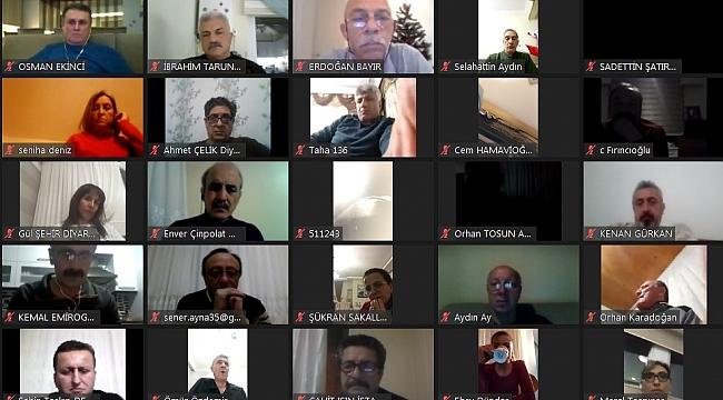 MHGK Başkanı Aziz Yener, Hakem ve Gözlemcilerle Online Toplantıya katıldı