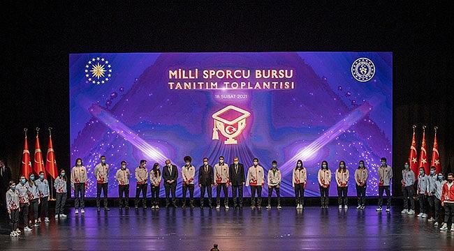 Milli Sporcu Bursu Tanıtım Toplantısı Ankara'da Yapıldı