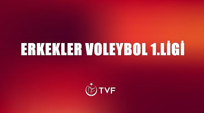 TVF Erkekler 1. Ligi'nde 16. Hafta Sona Erdi