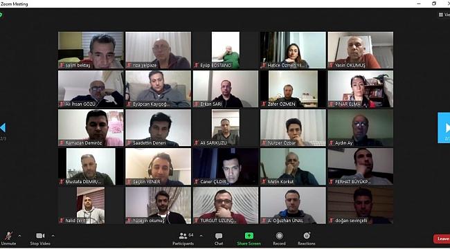 Aziz Yener, Voleybol Hakemleri ile Online Toplantıda Bir Araya Geldi