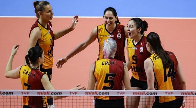 Galatasaray HDI Sigorta, final için sahada