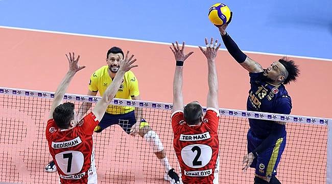 Kupa Voley'de Fenerbahçe ikinci yarı finalist oldu