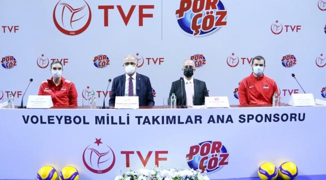 Porçöz Voleybol Milli Takımlar Ana Sponsoru Oldu