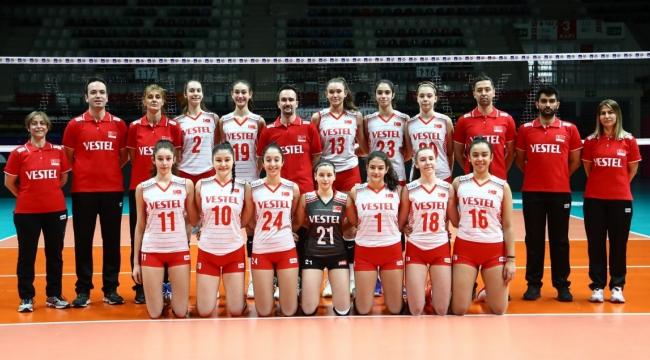 U16 Kız Millilerimiz, Avrupa Şampiyonası Elemeleri'nde