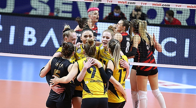 VakıfBank, yarı final serisinde öne geçti