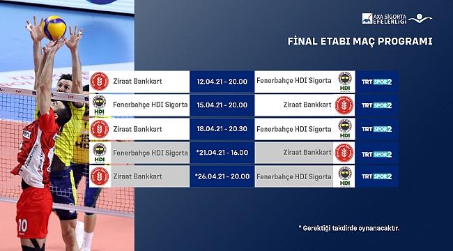 AXA Sigorta Efeler Ligi Play-off Final Etabı Başlıyor