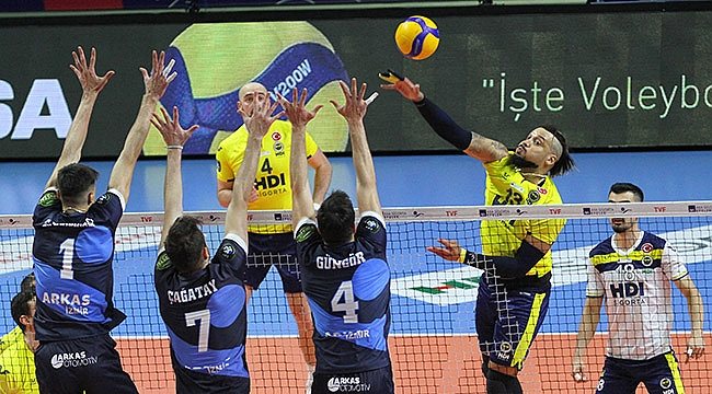 Fenerbahçe HDI Sigorta finalde